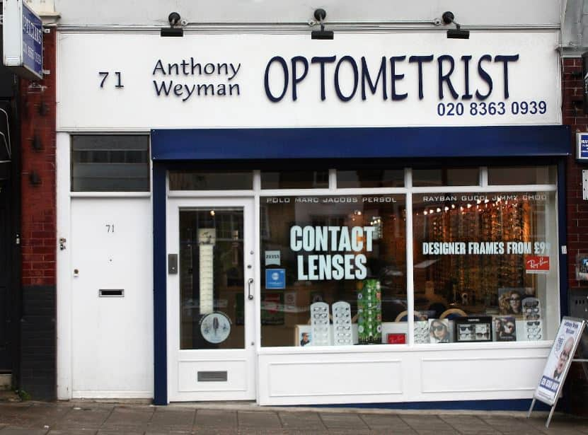 Microsuction In Enfield Within Anthony Weyman Optometrist